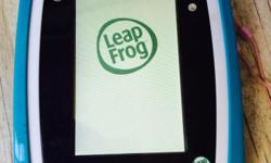 Leap pad with gel cover and charger. Leapster with