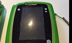 Leapfrog leappad and car holder. Keeps little ones