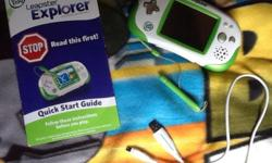 Leapfrog Leapster Explorer Game & Education Set for