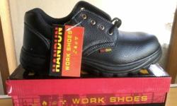 Leather safety shoes,Leather safety Boots Free delivery