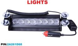 LED EMERGENCY DASH LIGHTS Available in: