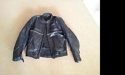 Lethabax biker leather jacket for sale with scotch lite