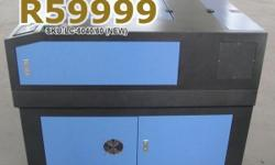 TruCUT-Series Cabinet 60W CO2 Laser Cutter 600�400mm