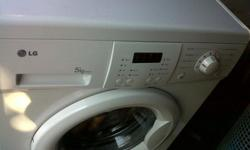 Selling a LG 5kg front loader washing machine.