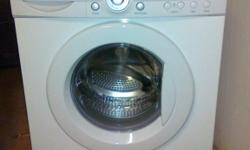 LG 7 kg Front Loading Washing Machine. In very good