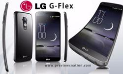 LG G Flex, in exc cond, with box and accessories,
