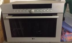 LG Solardom microwave/convection oven for sale.