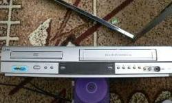 Soort: dvd vcr combo player hadly used real bargain