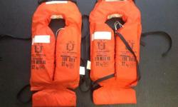 Good condition. Life jackets x 2 R100 each SMS if