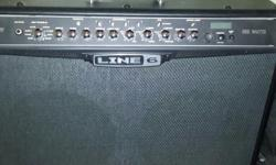Line 6 spider iv 150w combo 2 x 12. And an fbv mkii