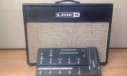 This listing is for a Line 6 Flextone III and FBV
