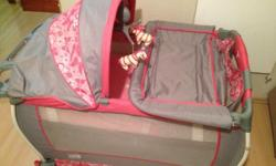 Brand new little one camp cot. With bag.