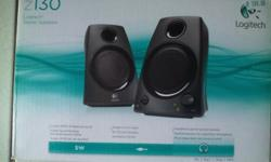 Rich stereo sound speakers with 5 Watt RMS of total