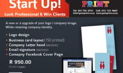 Business Start up Design Package. A new or a upgrade of