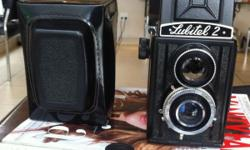 Lubitel 2 6x6 camera, mint, as new condition with lens