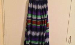 Long summer dress - never worn Pia Couture - 65% cotton