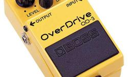 Looking for Boss OD-3 guitar pedal. Let me know if you