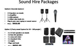Sound & Lights Suitable for Various Occasions DJ