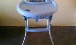 I have a lovely brand new high chair for sale, folds up
