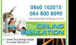 Beskrywing WHY INSTALL INSULATION IN YOUR HOME? Warming