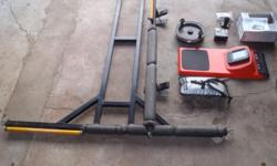 Lowrance X4 Fishfinder, T-Bar and Rack for Bakkie,