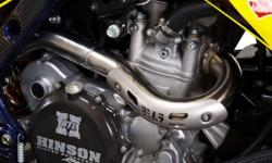 LTR 450 YOSHIMURA HEADER PIPES WITH LINK PIPE FOR SALE.