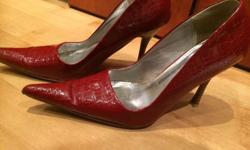Luella red shoe sold for very cheap as worn Contact of
