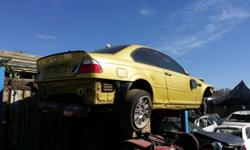 Bmw M3 Stripping for spares 2002 E46 accident damaged