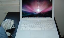 Macbook for sale white charger included