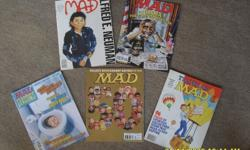 MAD Magazine, MAD Collector's & MAD Super Specials. +-