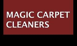 Magic Carpet Cleaners are professional carpet cleaners
