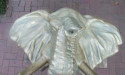 Elephant Head. Very detailed. Stunning. No damage.