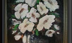 Painting name : MAGNOLIAS Medium : Acrylic Size : 78 x