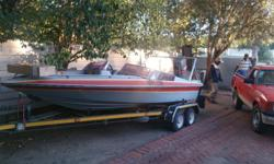Ski boat for sale! Magnum hull 115 mariner motor with