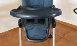2 x MamaLove High Chairs for sale. Blue one is height