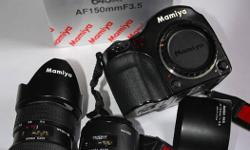 Beskrywing Selling Mamiya 645AF outfit, never used for