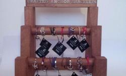 Handcrafted Anchor bracelets, comes in 3 sets. To