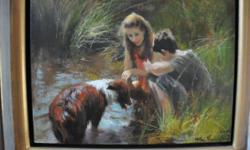 Beskrywing This fantastic oil painting by well known
