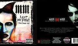 Marilyn MANSON LEST WE FORGET CD/DVD COMBO ( 2 DVD /1