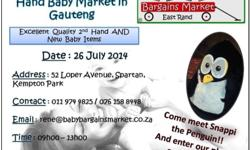 The Biggest Second Hand Baby Market in Gauteng (second