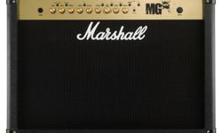 Hi I have a Marshall mg100 2x12 combo amp for sale, its