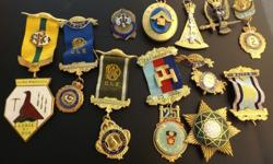 lot of old medallions sold as a lot