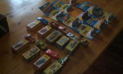 For sale is some vintage boxed model cars. Please see