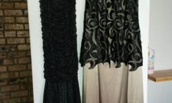 Only used once. Selling both dresses together.
