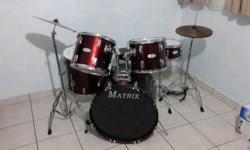 Matrix drum kit for sale.Perfect for beginners and