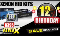 MAX MOTORSPORT - XENON HID KITS FROM R395 XENON HID