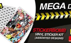 MAX MOTORSPORT - STICKERBOMB CAR VINYL STICKER KITS -
