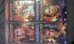 BRAND NEW MACGYVER TV SERIES DVD BOXSETS!THEY ARE ALL