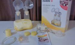 Medela Mini Electric Plus Breast Pump for sale. Works