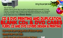 Beskrywing CD and DVD Duplication Service in Durban,
